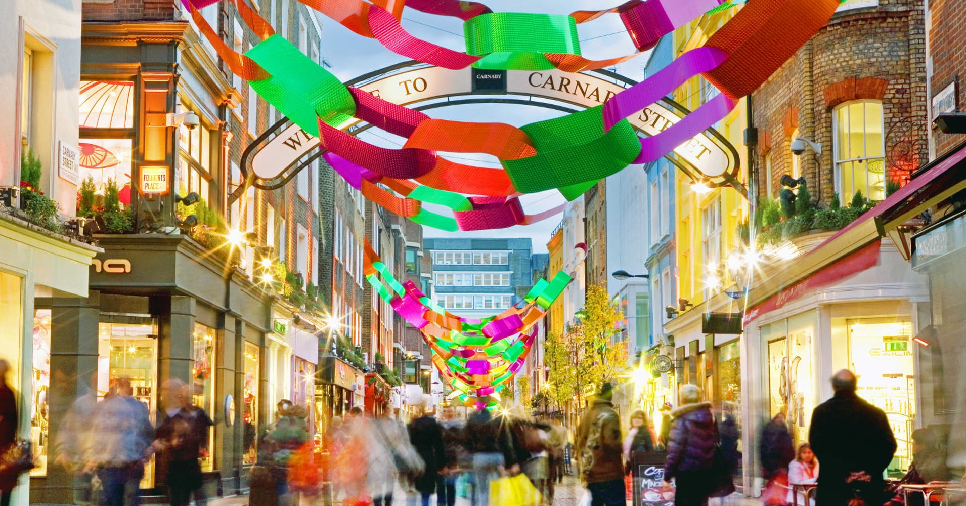 Carnaby Street Giant Paper Chains